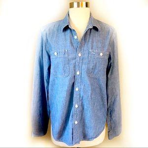 GAP 1969 denim shirt size women's small